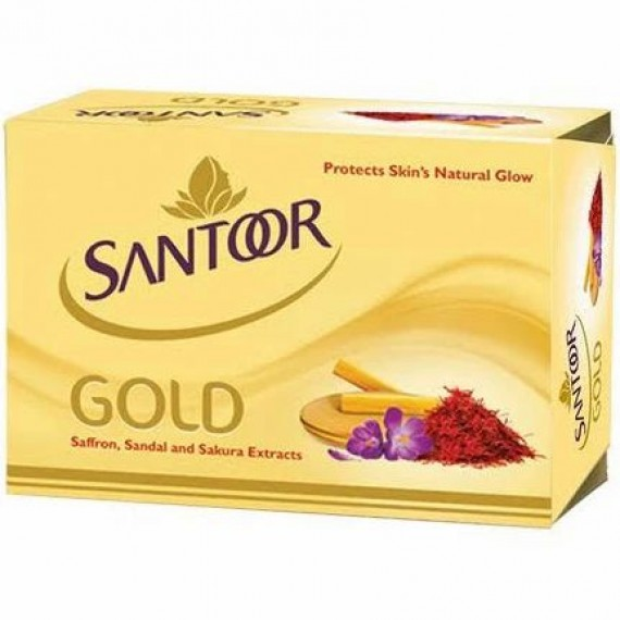 Santoor Gold Soap  (75 g)