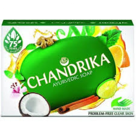 Chandrika Ayurvedic Soap (75 g)