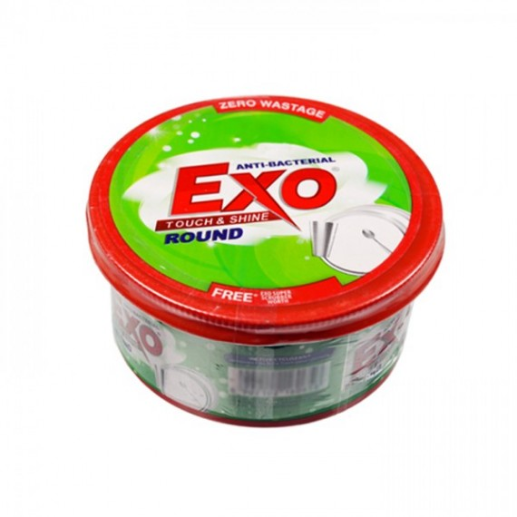 Exo Touch & Shine Round Dishwash Bar 250g