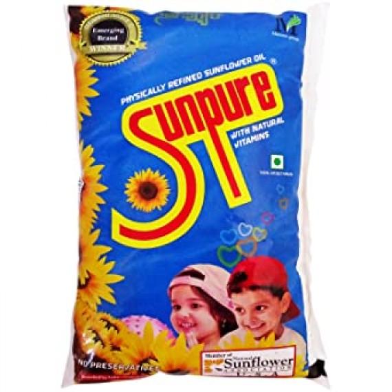 Sunpure Sunflower Cooking Oil 1 Ltr