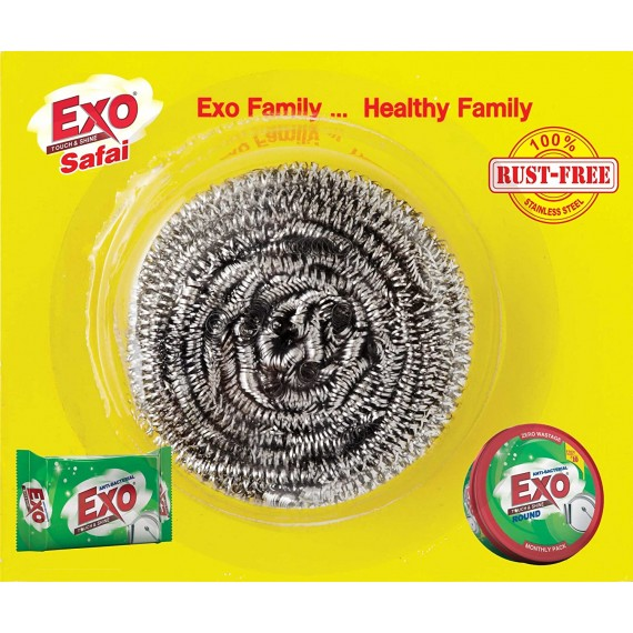 EXO Stainless Steel Scrubber