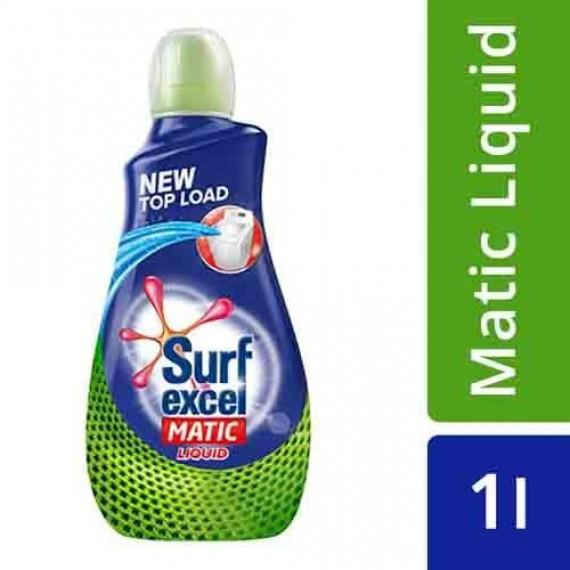 Surf Excel Liquid Detergent - Matic, Top Load, 1 L