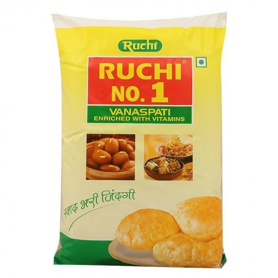 RUCHI NO 1 VANASPATI POUCH 1 L