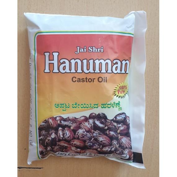 Hanuman 100% Pure Castor Oil (Pouch)  200ml
