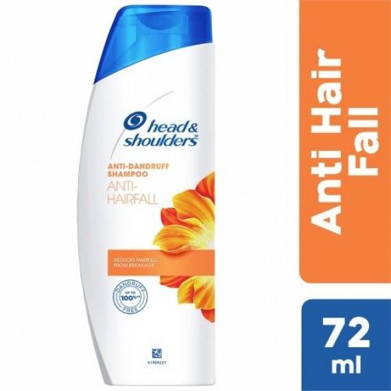 HEAD & SHOULDERS Anti Hairfall Shampoo  (72 ml)